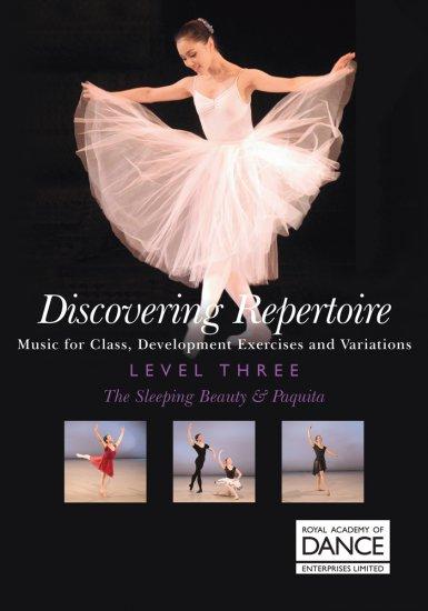 RAD Discovering Repertoire Level 3/ 眠りの森の美女&パキータ 楽譜