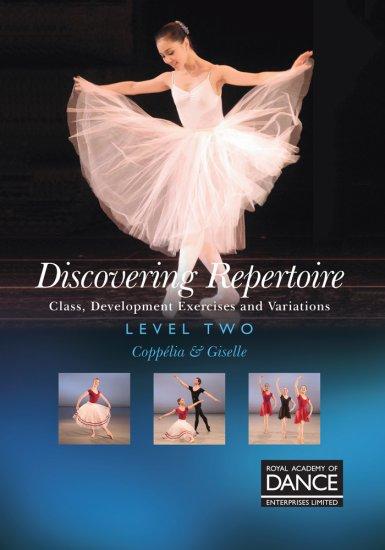 RAD レッスンDVD /Discovering Repertoire Level 2: コッペリア&ジゼル